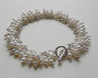Freshwater Pearl Euphrosyne Bracelet