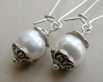 Pearl Guinevere Earrings
