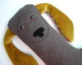 Milton Weeneekin - a plush dachshund