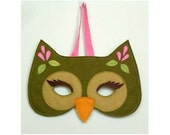 green owl mask