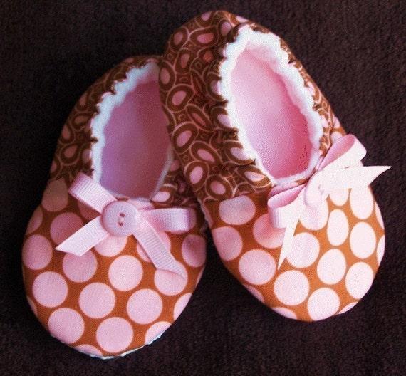 Pink Mocha Slippers