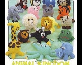 Amigurumi Supplies - Two Crochet Pattern Booklets and 56 Plastic Eggs