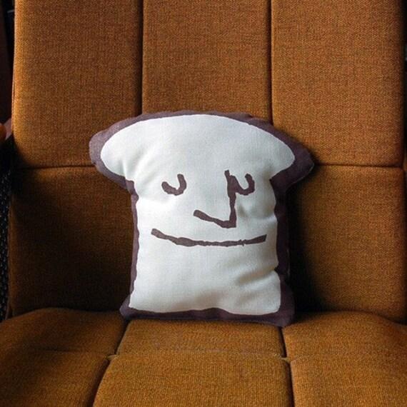 Items Similar To Moody Toast Pillow On Etsy