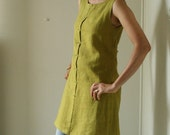 s linen dress with strap -  size XL