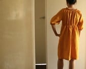 SALE . W linen DRESS