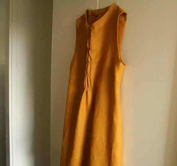 woffle . LINEN DRESS