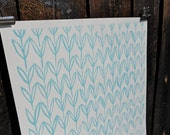 Turquoise Field Gift Wrap