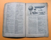 Pages from 1921 French Dictionary