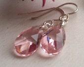 Bette Earrings - Sterling Silver & Swarovski