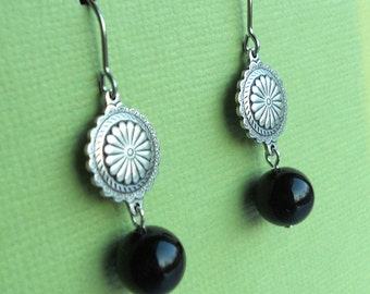 Lynne Earrings - Silver - Your Choice of Beads