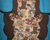 Chocoholic Teddy Bear Picnic Apron