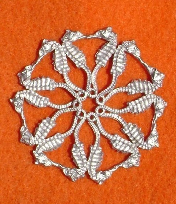 Seahorse Snow Flake Ornament