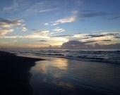 Sunrise, Shell Island (card)