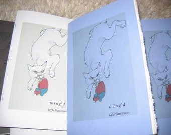 w i n g d by Kyle Simonsen - poetry chapbook