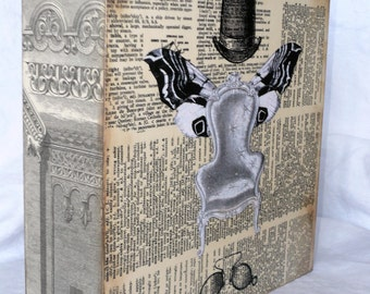 Storage Tray or Wall Art, Ephemera