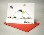 Home- Letterpress Plantable Card
