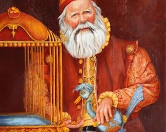 Art Print - Santa Canvas Print