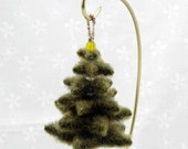 Christmas Tree Ornament - Evergreen green tree