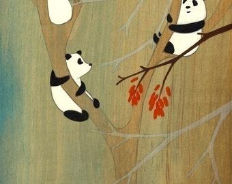 Tall Trees We Like - Signed Art Print