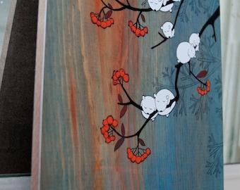 Cloudberries - Mounted Print