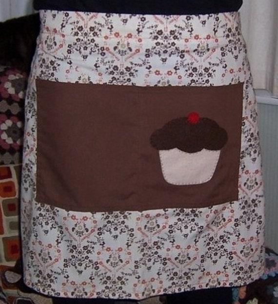 Yummy cupcake hostess apron