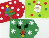 ANOTHER SET OF TWELVE CHRISTMAS GREETING TAGS