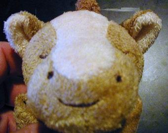 Brown Pony Baby Blankie/Monogrammed Lovie/Angel Dear/Personalized Blankie/Security Blanket/Baby Blankie Gift/Animal Blankie