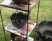 Reserved Listing -Recycled Tire Planter
