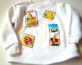 SALE Chick Spring Sweatshirt size 4T