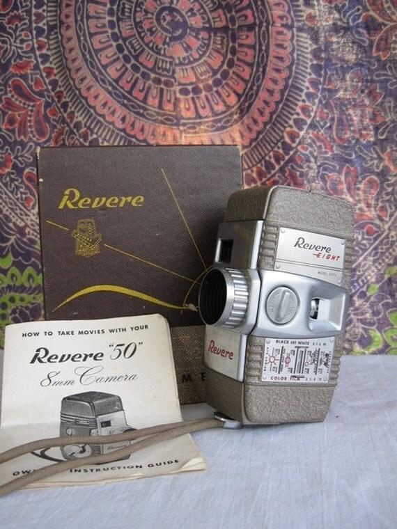 Vintage Revere 8mm Camera Model 50