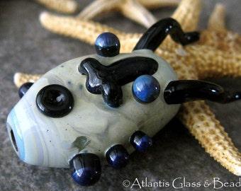 AGB boro glass lampwork beads, Larry...