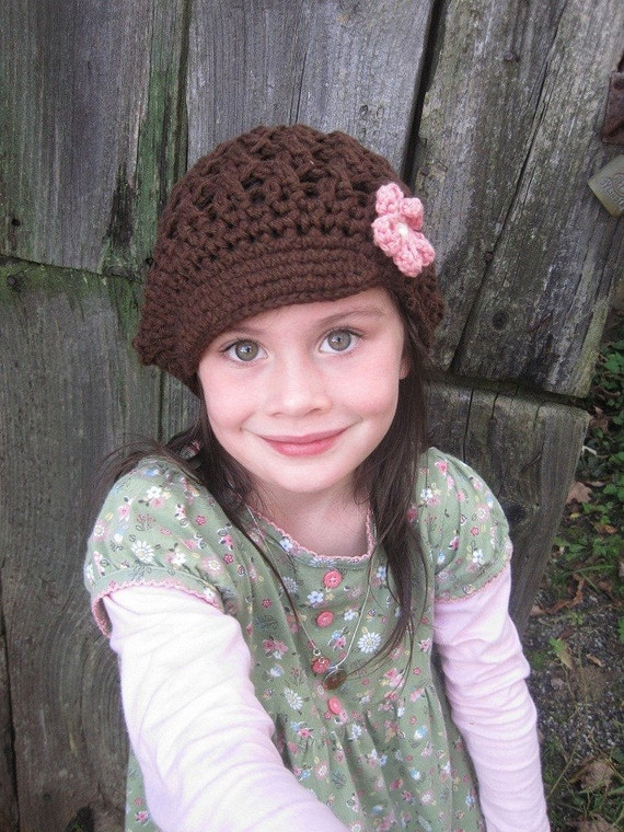 Organic Cotton Hat, Newsboy Cap // Sizes 5T through Adult // You Choose Size and Colors