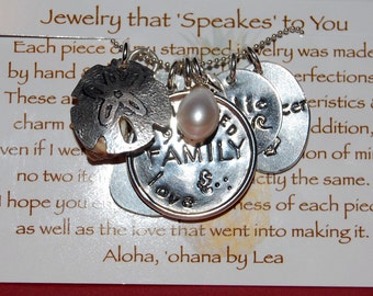 Design Your Own Custom Family Collage Necklace