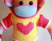 Mars Sock Monkey