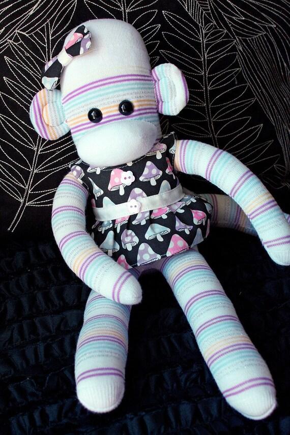 Neve Mars Sock Monkey