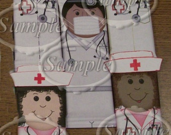 Nurses Candy Bar wrappers