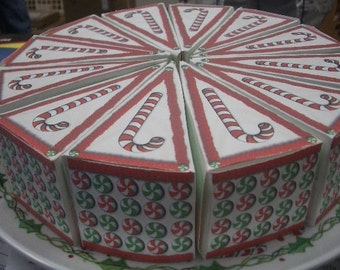 Christmas party favors boxes