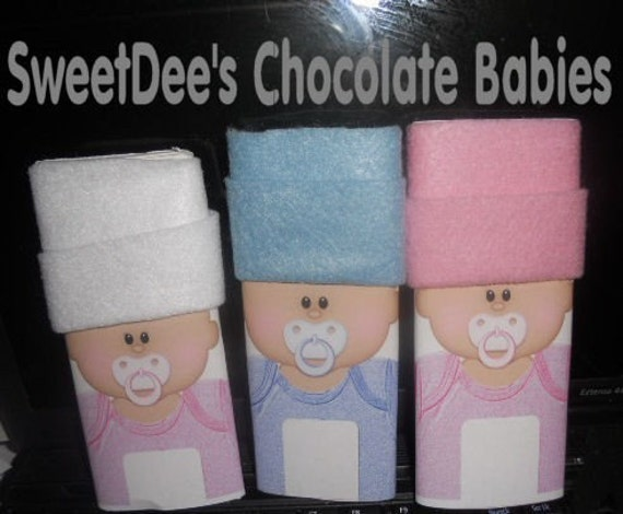 Reserved Baby Shower Candy Bar Wrappers