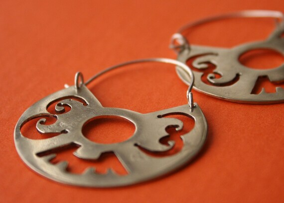 Ancient Peruvian Style - Sterling Silver