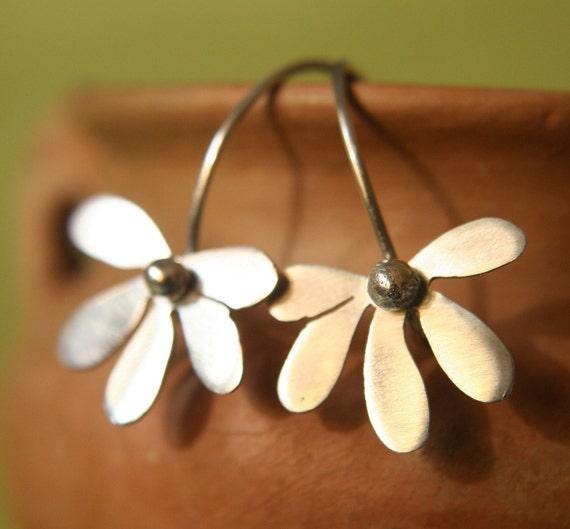 DECEMBER SALE 15% Off Margarita - Sterling Silver Earrings