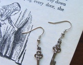 Wonderland Key Earrings