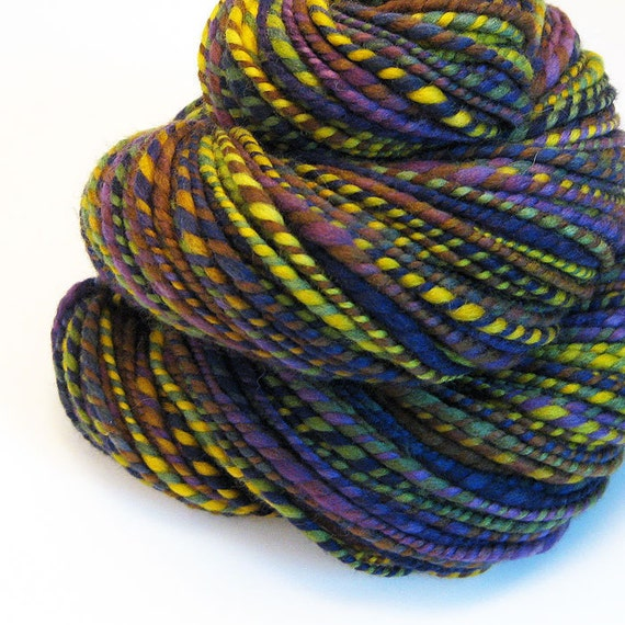 Handspun Yarn - Provence - 120 Yards