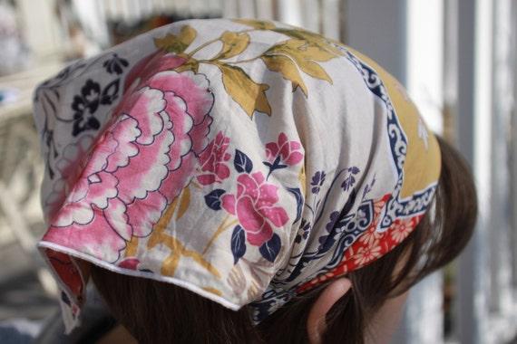 new Chahna bandana extended back no tie back cappuccino headband