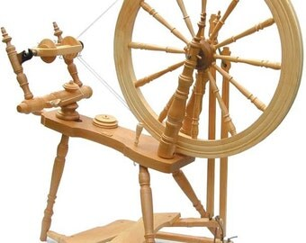 Kromski Symphony Spinning Wheel Unfinished Free Shipping Special Bonus