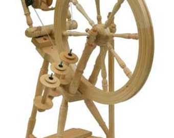 Kromski Interlude Clear Finish Spinning Wheel Free Shipping SPECIAL BONUS