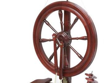 The Sonata Spinning Wheel Mahogany by Kromski Free Shipping  Special  Bonus