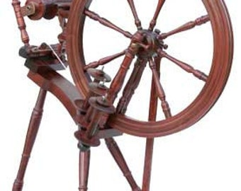 Kromski Interlude Mahogany Finish Spinning Wheel Free Shipping SPECIAL  BONUS