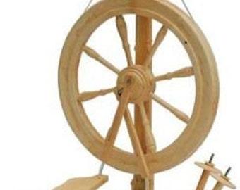 The Sonata Spinning Wheel Clear by Kromski Free Shipping Special  Bonus