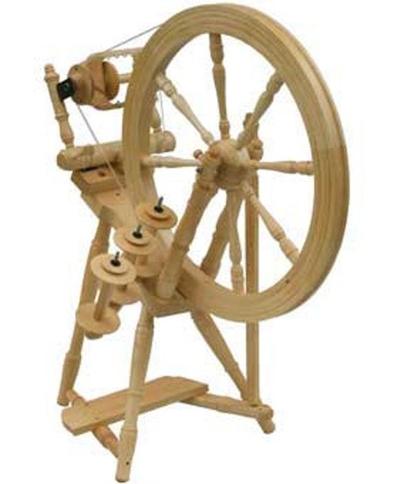 Kromski Interlude Clear Finish Spinning Wheel Free Shipping SPECIAL BONUS