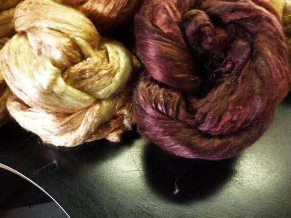 Au Chocolat Dyed Mulberry Silk Top